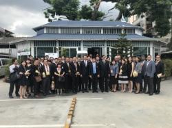 เอกอัครราชทูตไทย และที่ปรึกษา พร้อมคณะดูงานสิงคโปร์เยี่ยมชมสมาคมสมาร์ทซิตี้ไทยแลนด์ 2561